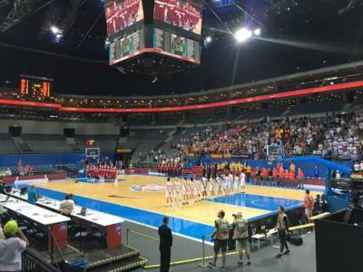 .. zápas Lotyšsko – Španělsko